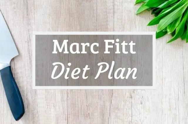 Marc Fitt Diet