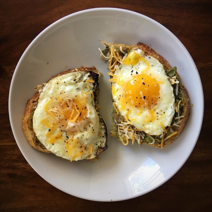 Avocado and Egg Sourdough Toast