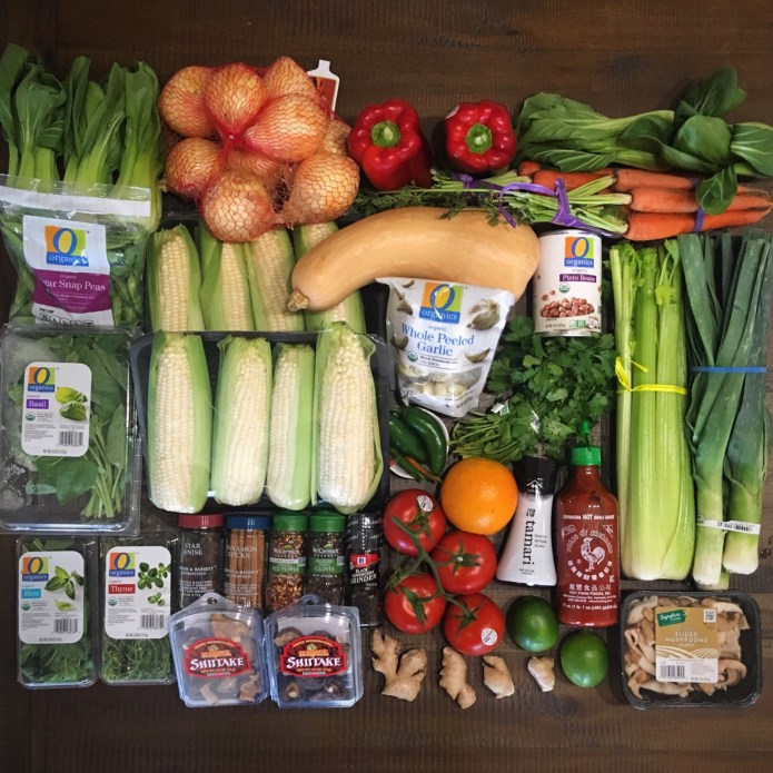 Whole Foods Plant Based Grocery Haul of Fruits and Veggies (and Spices)