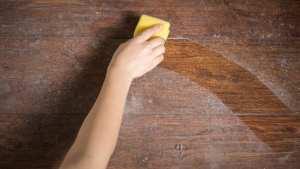 Bacteria and virus contaminated furniture