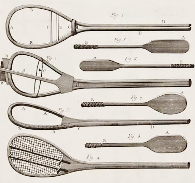 jeu de paume racquets - the complete history of tennis