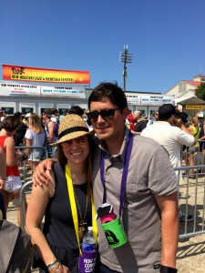 Ashley is originally from New Orleans, Louisiana, every year you can find her and her husband at the New Orleans jazz and heritage festival