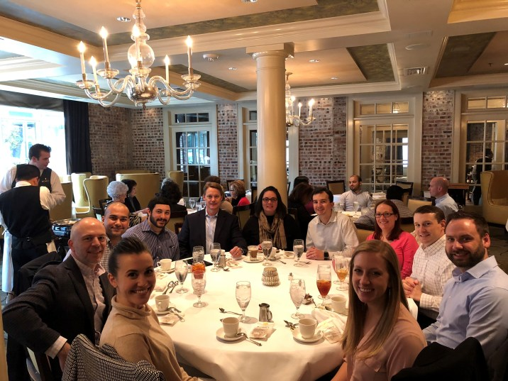 Houston Senior Manager Promotion Lunch