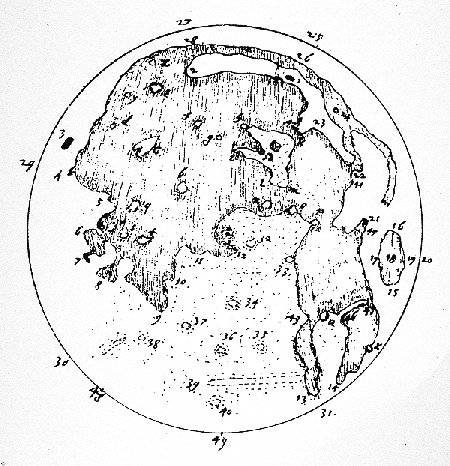 Thomas Harriot's Moon Map: pre-Galileo's