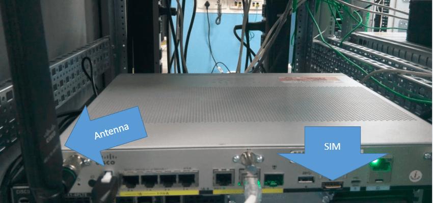 C1111-4PLTEA SIM and Antenna