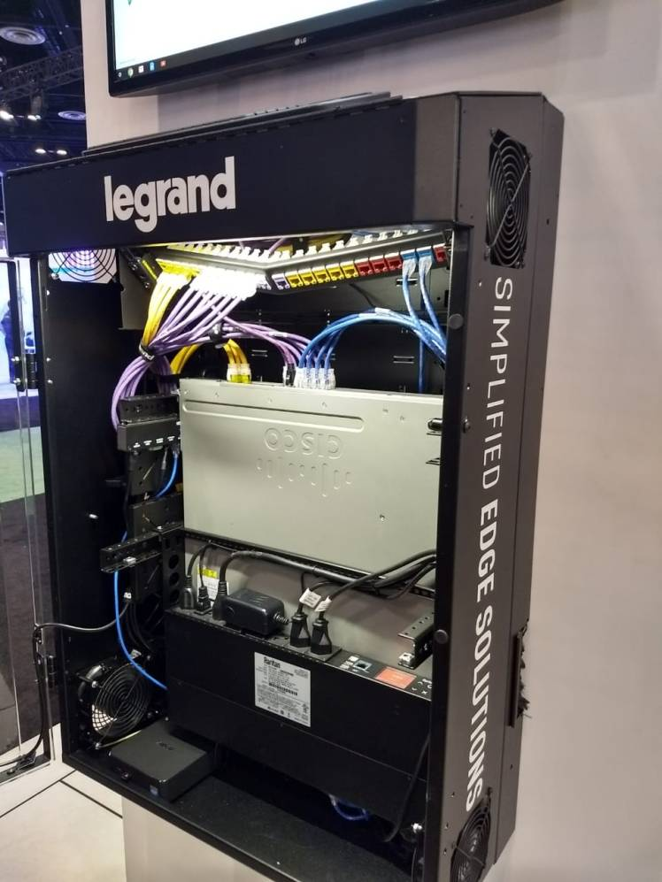 Legrand moisture control Cabinet