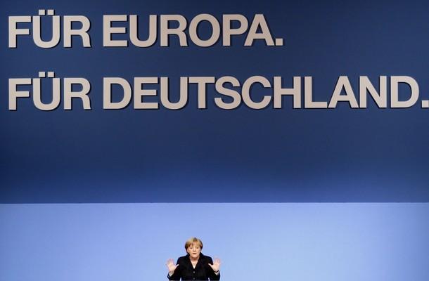 La Canciller Merkel