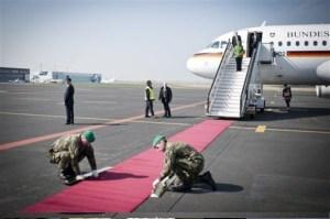 Merkel en visita oficial