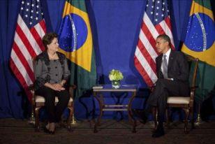 El Presidente Obama y la Presidenta Rousseff