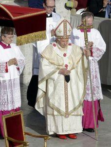 Celebración de la misa del domingo 21 de octubre 2012