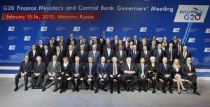 Ministros de Finanzas y Gobernadores de banco en Moscú