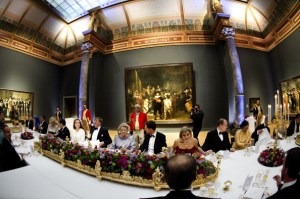 Queen Beatrix Of The Netherlands Hosts A Dinner Ahead Of Her Abdication