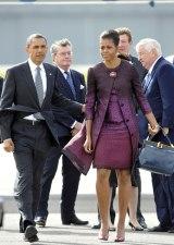 M.Obama de viaje