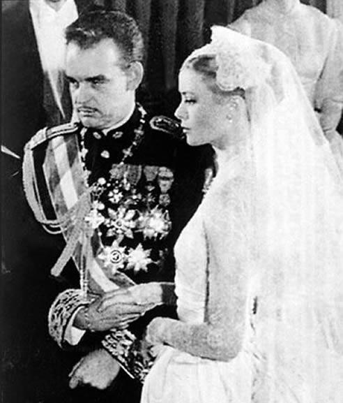 Boda de Rainiero de Mónaco y Grace Kelly en 1956