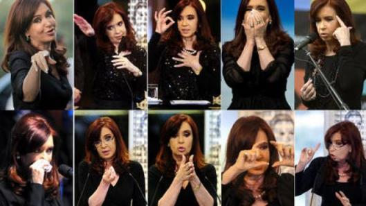 Cristina F. de Kirchner