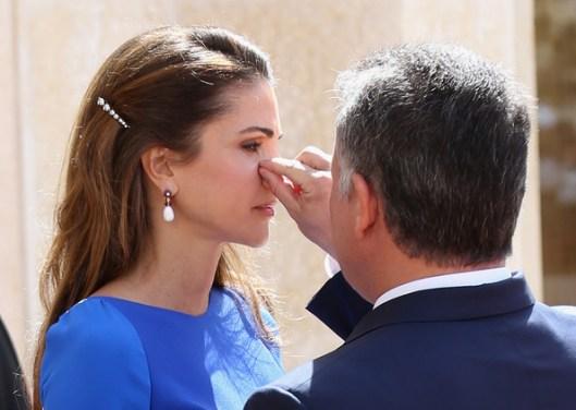 Algo en el ojo de Rania