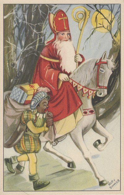 San Nicolás y Pedrito el negro