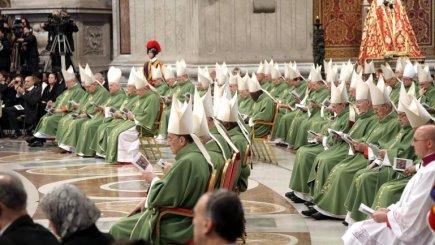 Misa con los cardenales