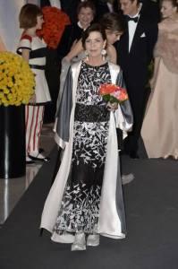 Carolina de Mónaco en el Baile de la Rosa