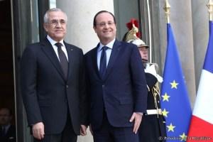 Hollande recibe en el Elíseo