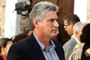 Miguel Diaz Canel Cuba