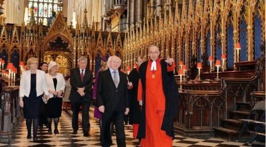 En la Abadía de Westminster