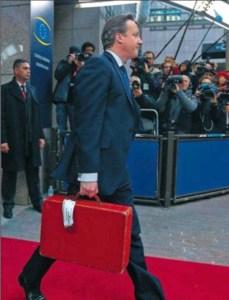 Cameron en Bruselas