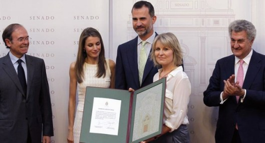 Entrega premio Luis Carandell 2013