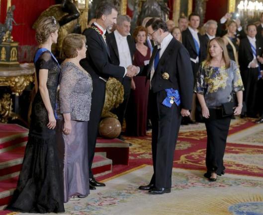 cena de Gala en Palacio Real