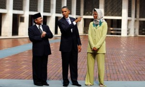 Los Obama en Indonesia