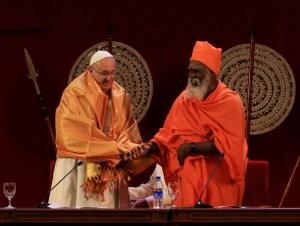 Khata manto budista que se entrega como señal de respeto y bienvenida.