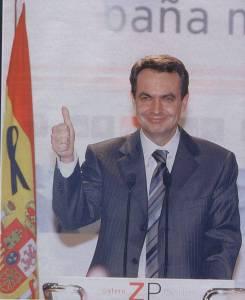 Zapatero en Ferraz 11M