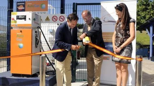 Inauguración de un surtidor, Valladolid