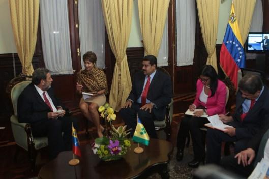 Maduro en PetroCaribe
