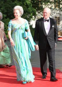 Benedicta y su marido