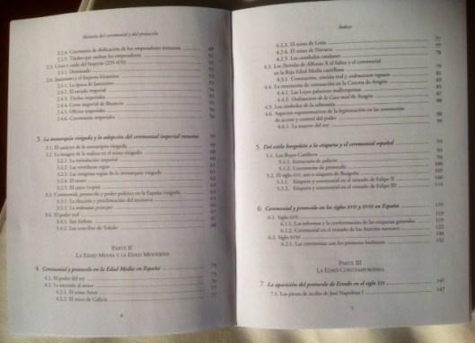 libro María índice