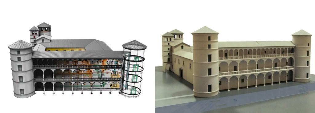 saluzzo - plastico castello