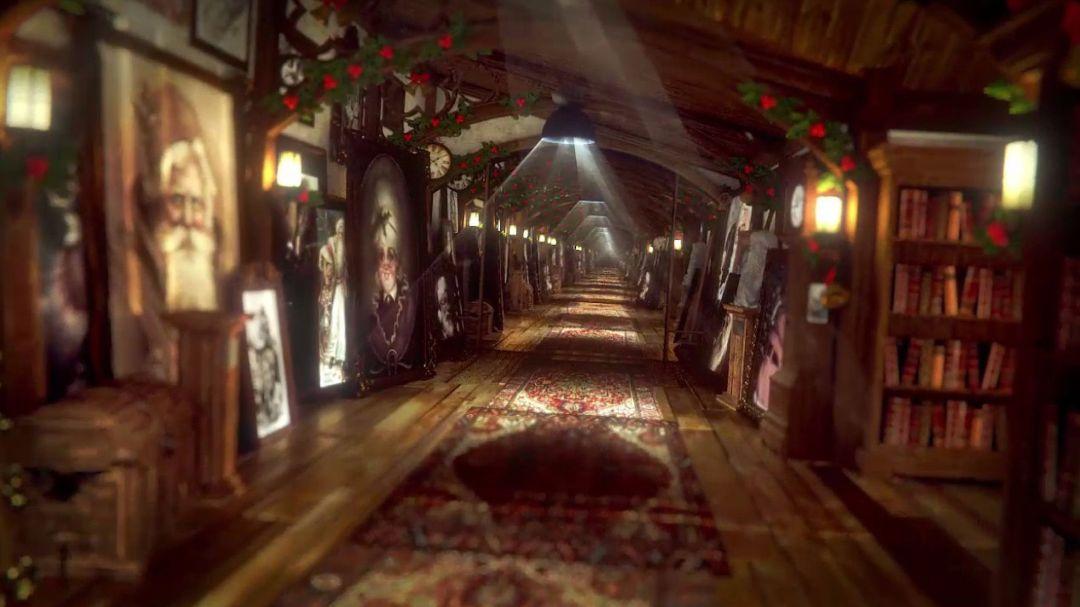 rendering 3D christmas dream