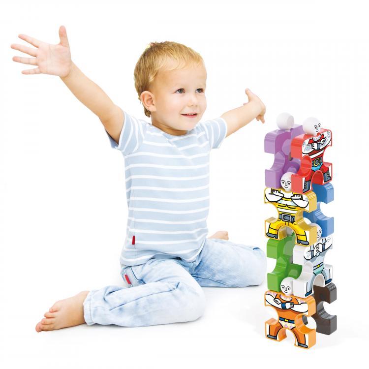 Quercetti Acrobats 3D kid