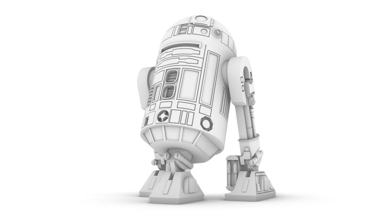 R2-D2 modello 3D