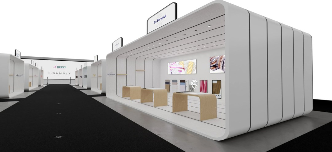 Bsamply Tradeshow virtual booth 3D 001