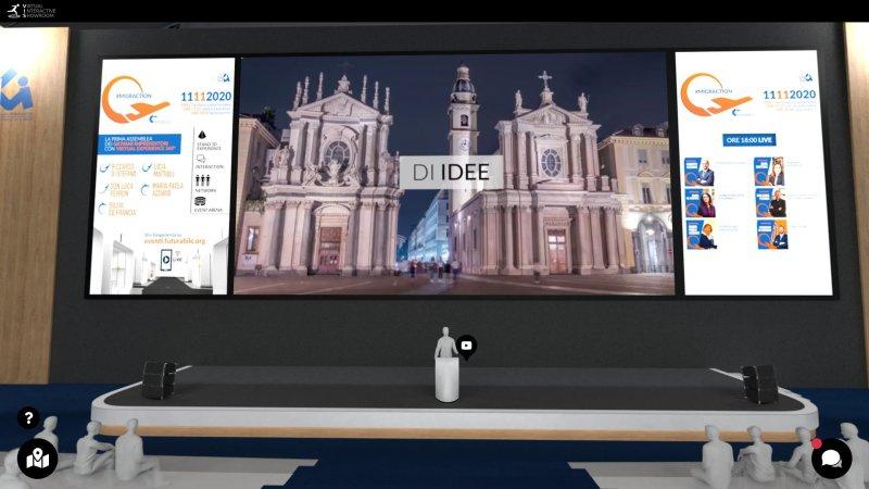 MigrAction - Road to Futurabile - cover evento virtuale 3D