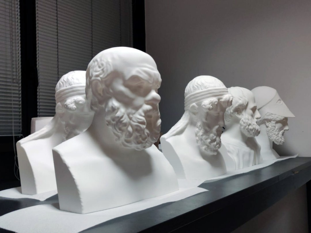 green pea filosofi 3D printed