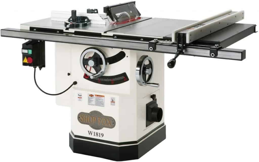 The Shop Fox W1824 Hybrid Table Saw Review
