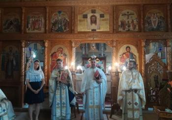 Instalarea noului preot din Parohia Rugășești