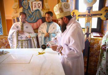 Resfințirea Bisericii din localitatea Pruni, Filia Parohiei Bobâlna