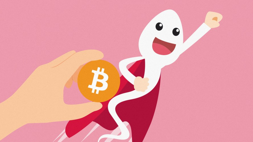Bitcoin is an 'apocalyptic safe haven,' they say, the perfect hedge against widespread chaos. What about unvaccinated sperm?