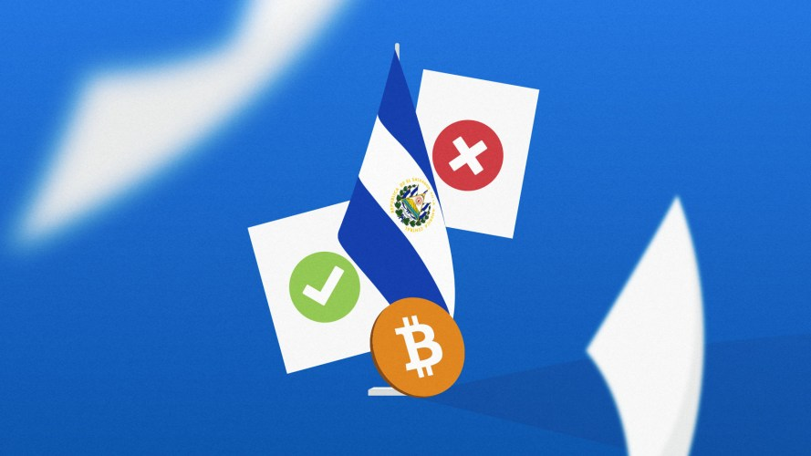 El Salvador poll reveals most don't believe Bitcoin use is mandatory.