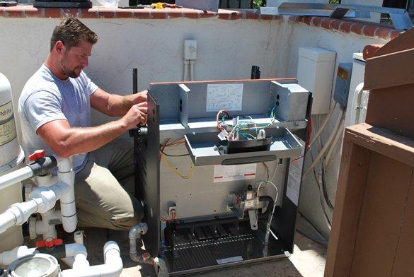 Raypak Pool Heater Installation In Rancho Bernardo ProTouch
