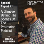 Special Report #1 – A Glimpse Behind the Scenes with Martin Holsinger